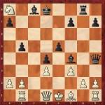 Beldie Raimondo - Carp George (18...Qh4+)