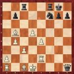 Calin Nicoleta - Ghenea Loredana (46...Qh1+)